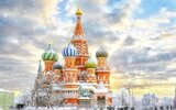 To nejlepší ze zimní Moskvy (letecky z Prahy)