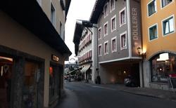 Okolí hotelu Gasthof Goldene Traube