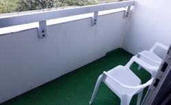 Hotelový pokoj - balkon