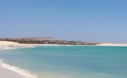 Krásná dlouhá pláž