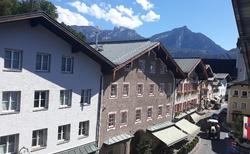 Gasthof Goldene Traube - pohled z pokoje