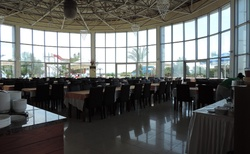 Hotelová jídelna