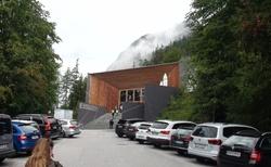 Ledová jeskyně Eisriesenwelt - návštěvnické centrum
