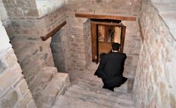 Interier kláštora Agios Nikolaos