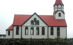 37 Sandavágs kommuna-SANDAVÁGUR-LUTERÁNSKÝ SANDAVÁGURSKÝ KOSTEL