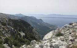 záběry z túry v horách