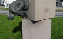 27 Tórshavn- Fría Fríða (KRÁSA ZDARMA) skulptura poblÍž skansinu
