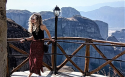 Hore na Great Meteora Monastery