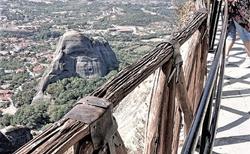 Pohľad z Great Meteora Monastery
