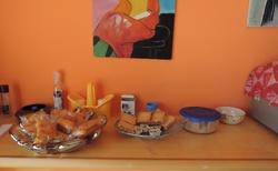 Sicílie _ Acitrezza - snídaně v BaB Olympus