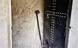 Vstup do Great Meteora Monastery
