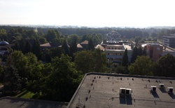 Zalakaros hotel Freya - poslední pohled z okna