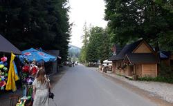 Dolina Chocholowská - vstup