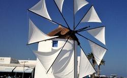 Windmill in port Parikia