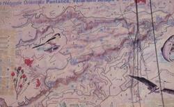 Sicílie - mapka NP Pantalica