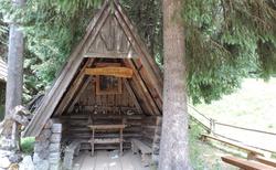 Dolina Chocholowská - Polana Chocholówska - kaplička Sv. Jana Křtitele