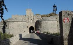 Rhodos _ Old Town - Amboisova brána