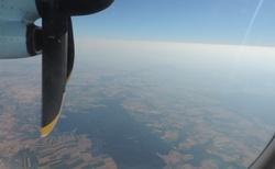 Cesta na Sicílii - vrtule letadla